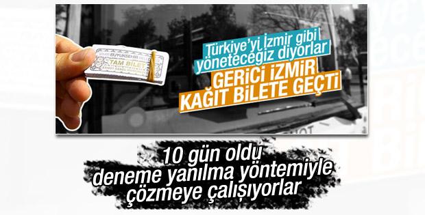 İzmir'de Kentkart AŞ'den toplu ulaşım açıklaması