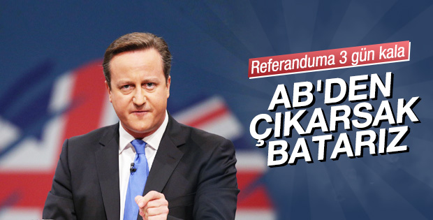 David Cameron'dan AB'den çıkma uyarısı