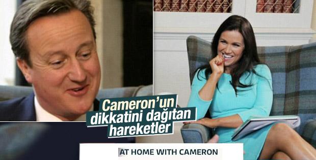 İngiliz sunucu Susanna Reid, Cameron ile flörtleşti
