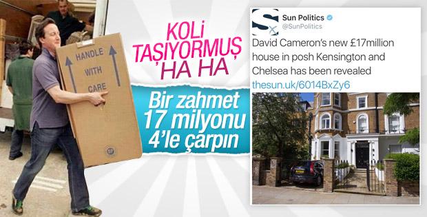 David Cameron'ın yeni evi