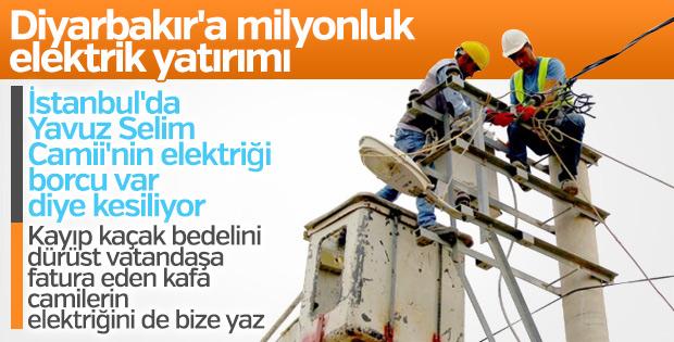 Dicle Elektrik'ten Diyarbakır'a 1 milyon liralık yatırım