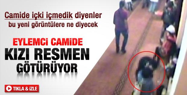 Bezmi Alem Camisi'ndeki öpüşme görüntüleri – izle