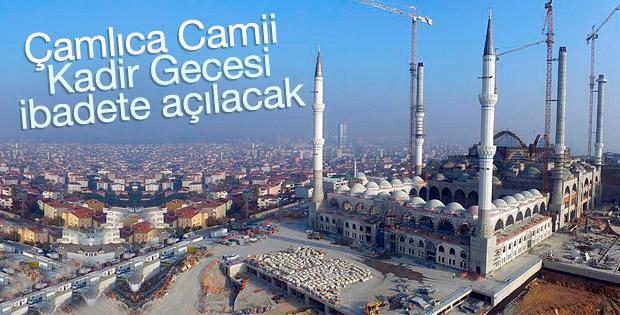 Çamlıca Camii bir günlüğüne ibadete açılacak