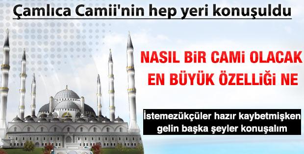 Hilmi Türkmen Çamlıca Cami ile ilgili konuştu