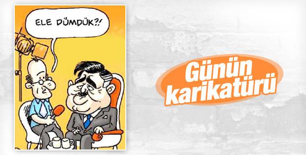Can Baytak'tan Abdullah Gül karikatürü