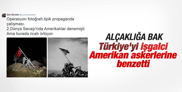 Can Dündar Türk askerlerini ABD askerlerine benzetti