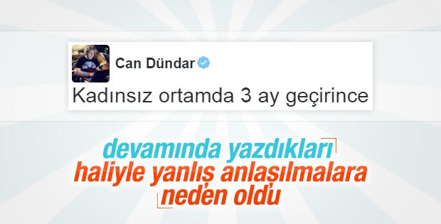 Can Dündar'ın tartışılan Kadınlar Günü tweet'i