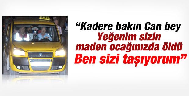 Can Gürkan'ı hapse madende yeğeni ölen taksici götürdü
