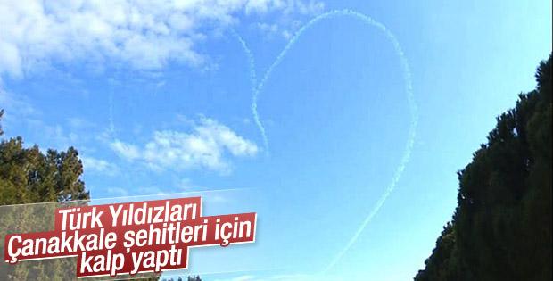 Türk Yıldızları Çanakkale'de gösteri yaptı - İZLE