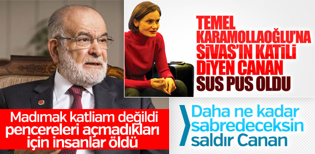 Canan Kaftancıoğlu'nun Temel Karamollaoğlu sessizliği