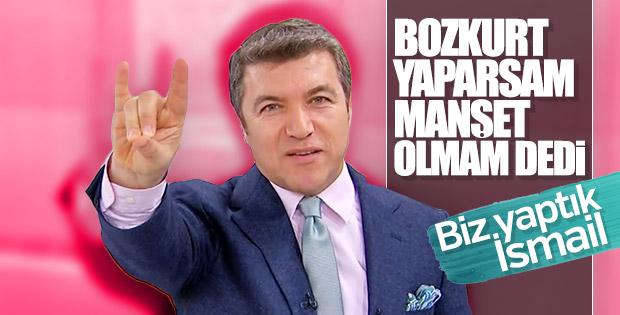 İsmail Küçükkaya canlı yayında Bozkurt yaptı