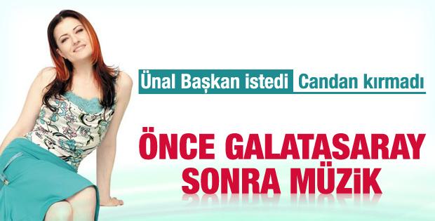 Candan Erçetin Galatasaray için müziğe ara verecek
