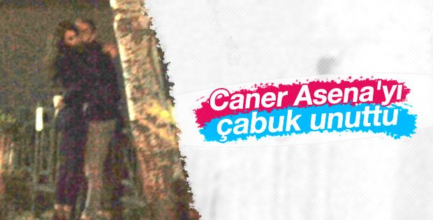Caner Erkin yeni sevgilisiyle Antalya'da yakalandı