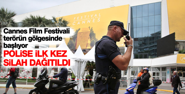 Cannes Film Festivali terörün gölgesinde başlıyor
