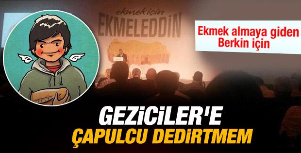 Ekmeleddin İhsanoğlu: Çapulcu dedirtmem İZLE