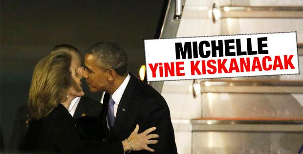 Caroline Kennedy'den Obama'ya sıcak karşılama