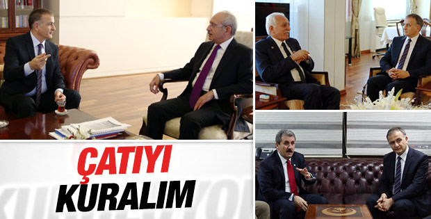 Ekrem Dumanlı muhalefet liderleriyle görüştü