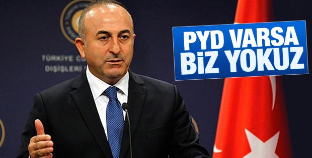 Dışişleri Bakanı Çavuşoğlu'ndan PYD açıklaması