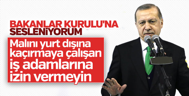 Cumhurbaşkanı Erdoğan Muş İl Kongresi'nde