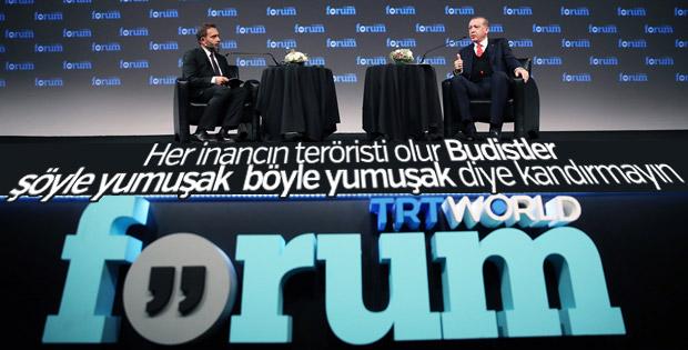 Cumhurbaşkanı'nın TRT WORLD FORUM konuşması