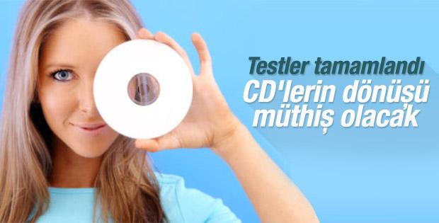 CD'lerin geri dönüşü muhteşem oluyor