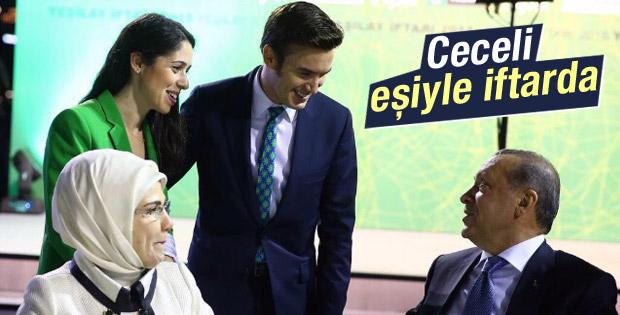 Ceceli ailesi Yeşilay iftarında Erdoğan ile buluştu