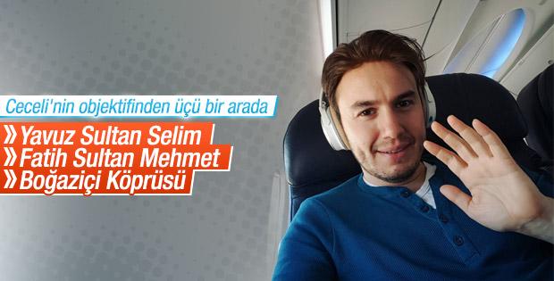 Mustafa Ceceli'den 2 müthiş fotoğraf