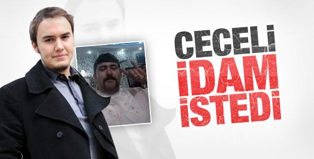 Mustafa Ceceli Özgecan'ın katillerine idam istedi