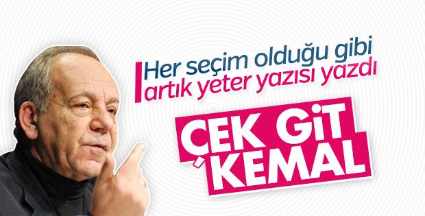 Bekir Coşkun, Kemal Kılıçdaroğlu'nun istifasını istedi