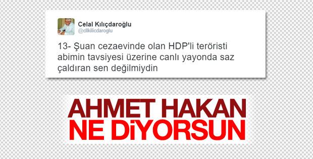 Celal Kılıçdaroğlu'ndan Ahmet Hakan'a cevap