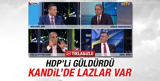 HDP'li Celalettin Can: Kandil'de Lazlar da var