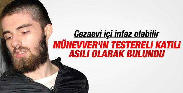 Cem Garipoğlu asılı olarak bulundu