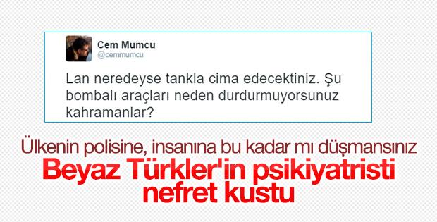 Cem Mumcu'dan aşağılık tweet