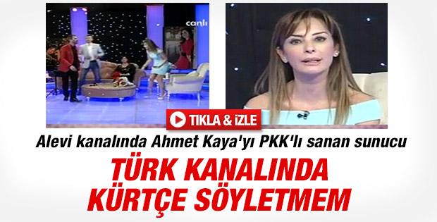 Alevi kanalında Ahmet Kaya tartışması program bitirdi İZLE