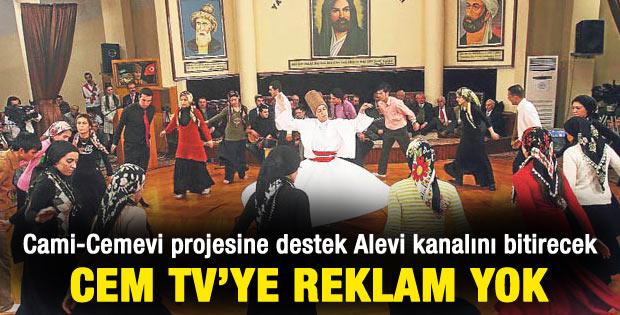 Alevi iş adamları Cem TV'yi boykot etti