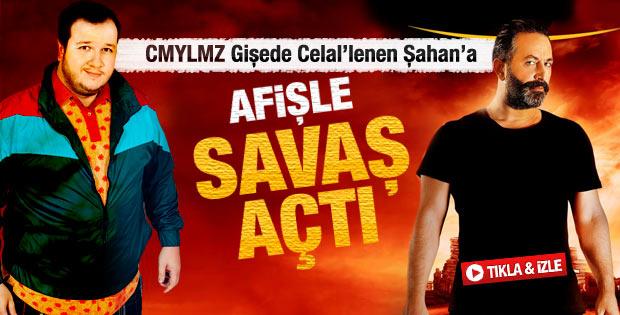 Şahan Gökbakar ile Cem Yılmaz'ın afiş savaşı