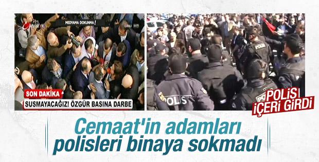 İpek Medya'ya polisleri sokmadılar