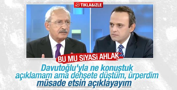 Kılıçdaroğlu Cemaat kanalında özel görüşmeyi anlattı