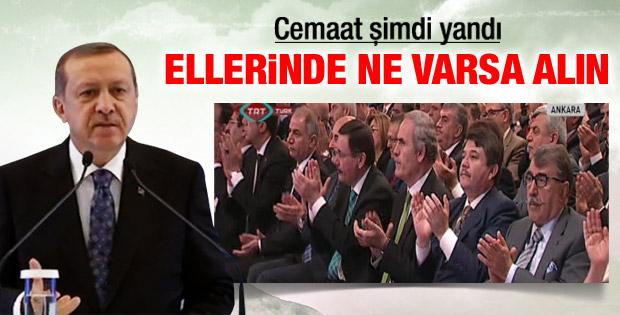 Erdoğan: Cemaat misin örgüt müsün