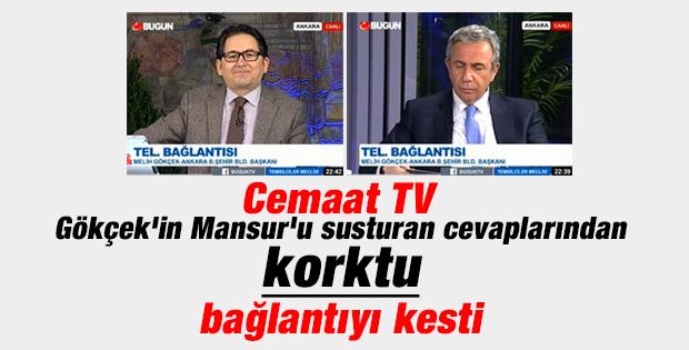 Cemaat'in kanalı Bugün TV Gökçek'i yayından aldı