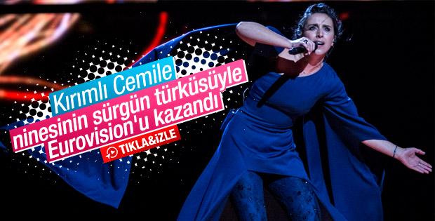 Eurovision Şarkı Yarışması'nı Ukrayna'dan Jamala kazandı