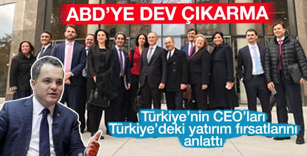 CEO'lar Amerika'da Türkiye'yi tanıttı