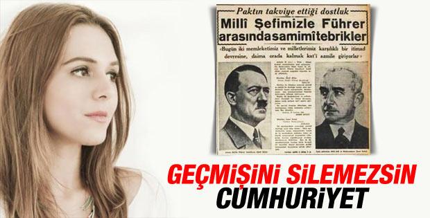 Ceren Kenar: Goebbels'le bizi Cumhuriyet tanıştırdı