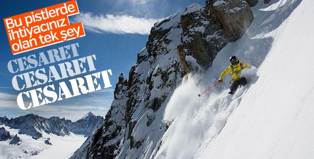 Dünyanın en zorlu kayak pistleri