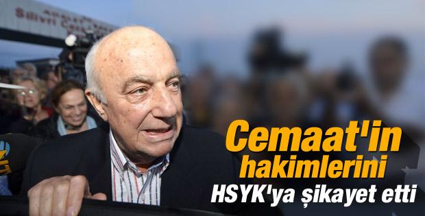 Çetin Doğan Balyoz hakimlerini HSYK'ya şikayet etti