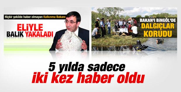 Hükümetin en az bilinen bakanı Cevdet Yılmaz yerini korudu