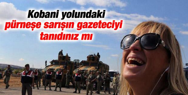 Ceyda Karan'dan Kobani selfiesi