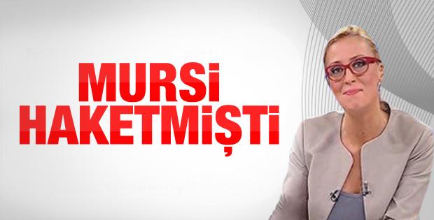 Ceyda Karan: Mursi haketmişti