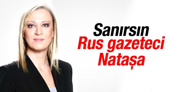 Rusya vuruyor Türk gazeteci seviniyor