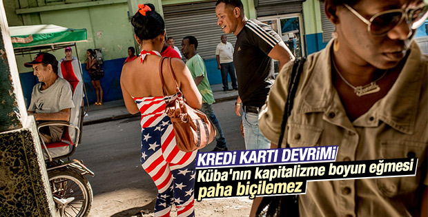 ABD ile normalleşen Küba'da kredi kartı devri başlıyor